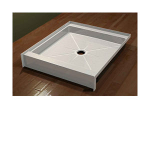 "Single Threshold Shower Bases - Standard (5 1/2"") Threshold"