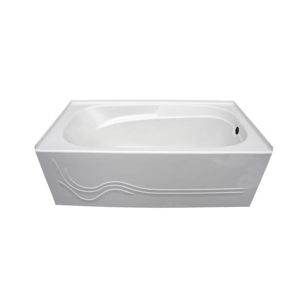 Jasper skirted tub glass world bathtubs drop in for Non standard bathtubs