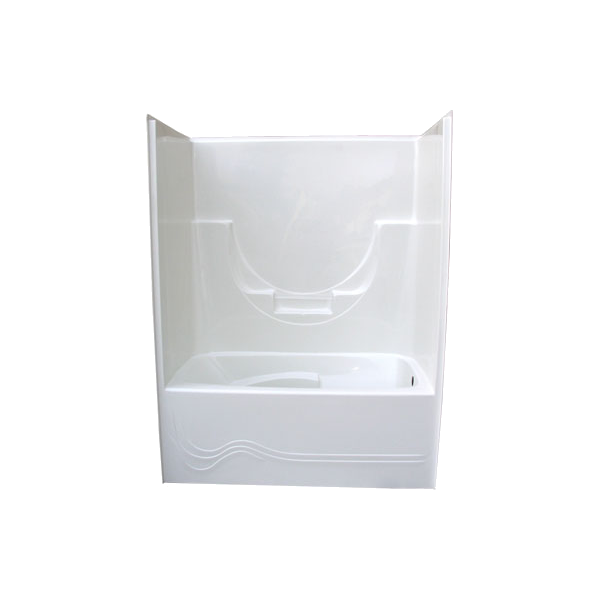 Armstrong One Piece Tub  Wall Glass World bathtubs drop in