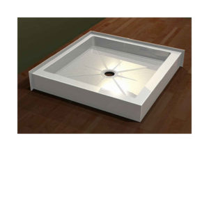 "Double Threshold Shower Bases - Standard (5 1/2"") Threshold"