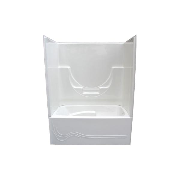 Cascade Renovator Two Piece Tub & Wall – Glass World – [bathtubs ...