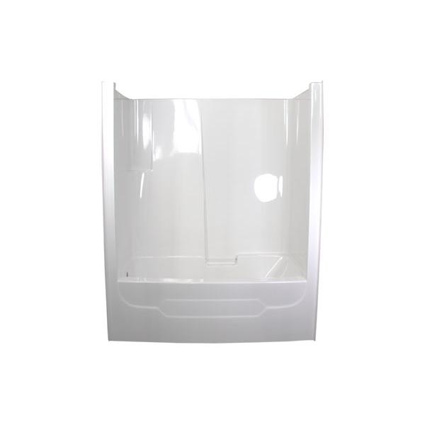 ts6033 one piece tub & wall – glass world – [bathtubs, drop-in
