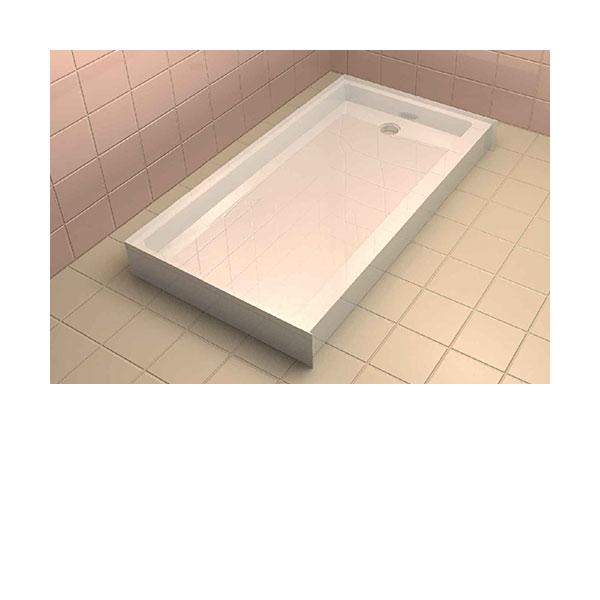 Sb6032rhd Standard Single Threshold Shower Base Right Hand Drain