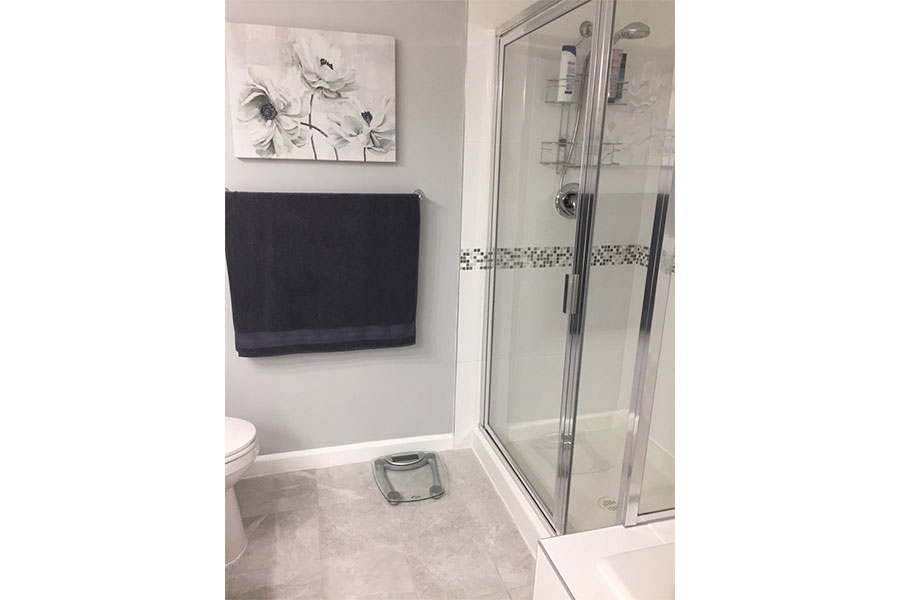 Inline Framed Shower Door 002