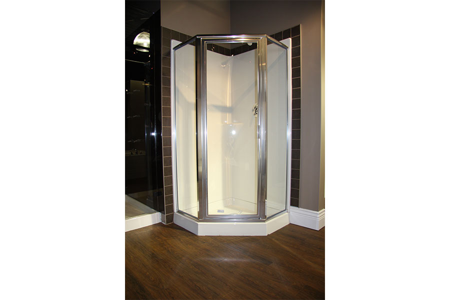 Neo Angle Framed Shower Door 001