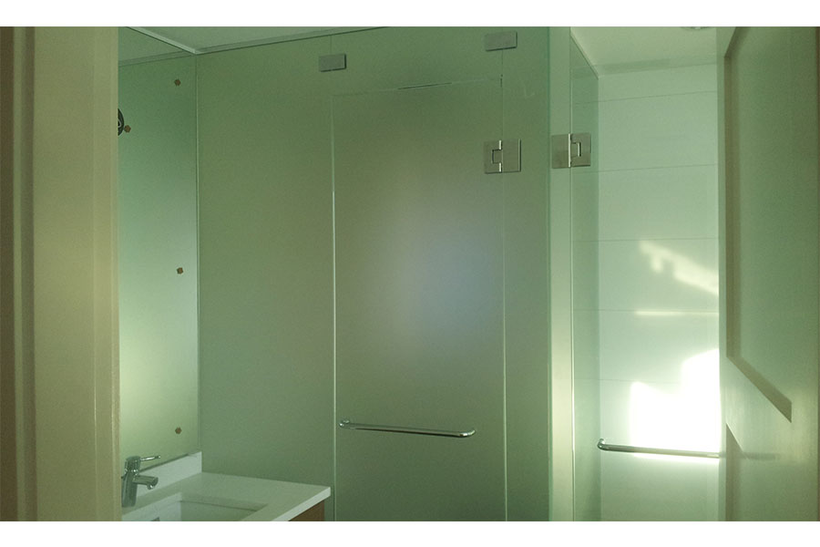 Frameless Water Closet Door 003