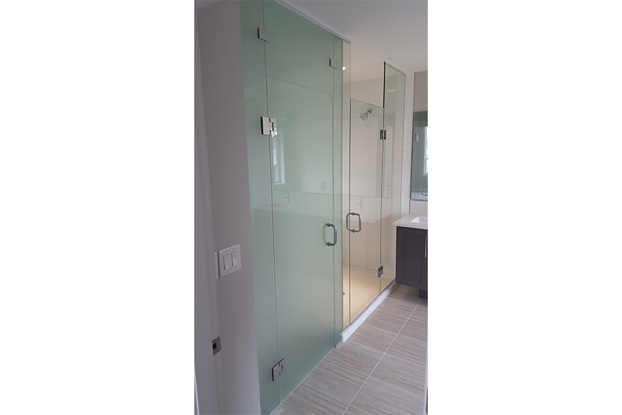 Frameless Water Closet Door 005