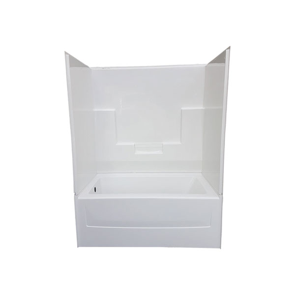 richmond surround two piece tub & wall – glass world – [bathtubs